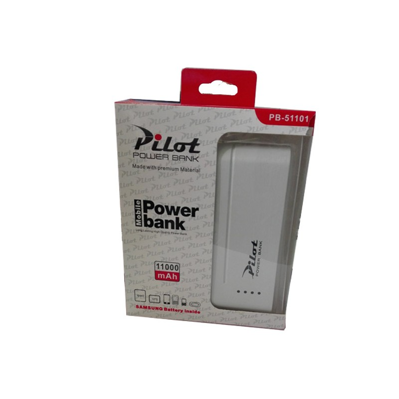 PILOT - Pilot Power Bank PB-51101 11000 mAh prix tunisie