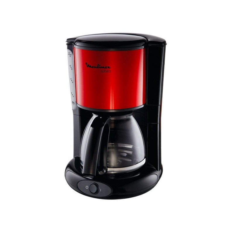 Moulinex - CAFETIERE SUBITO 15 TASSES RED RUBY prix tunisie