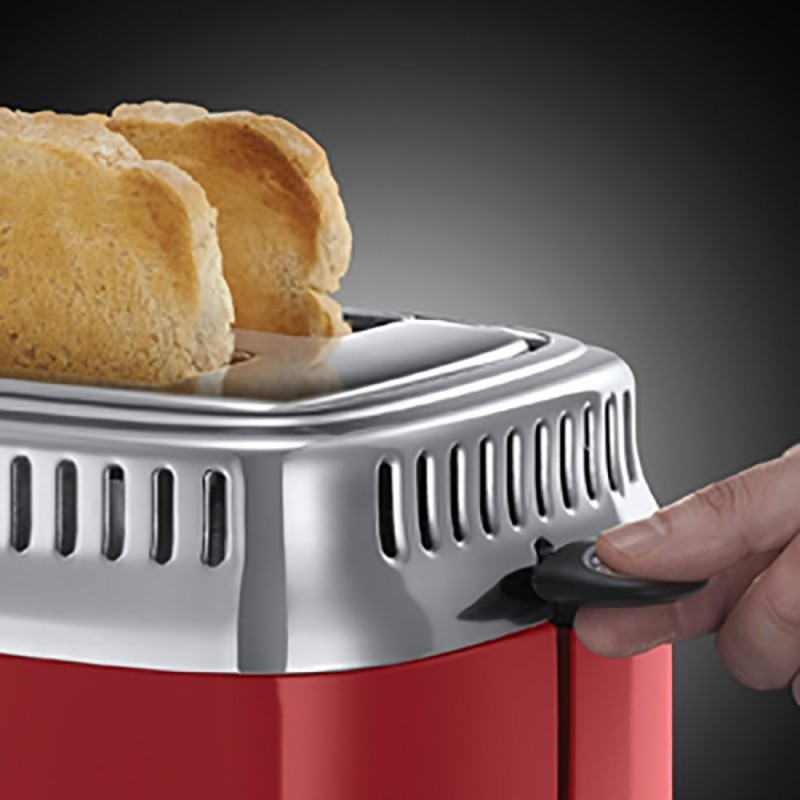 RUSSELL HOBBS - Grille pain TOASTER AVEC JAUGE COMPTE A REBOURS RETRO - 21680-56 prix tunisie