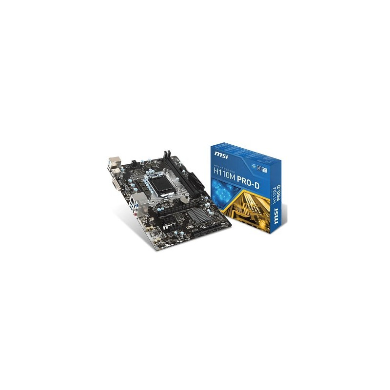 MSI - Carte mère H110M PRO-D / socket Intel 1151 prix tunisie