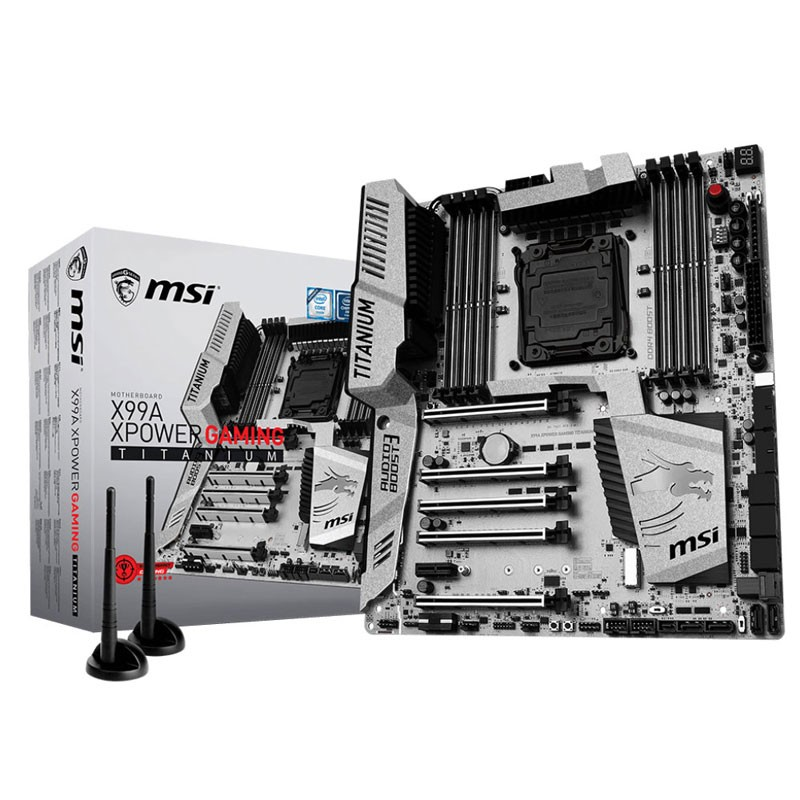 MSI - Carte mère x99a xpower gaming titanium prix tunisie