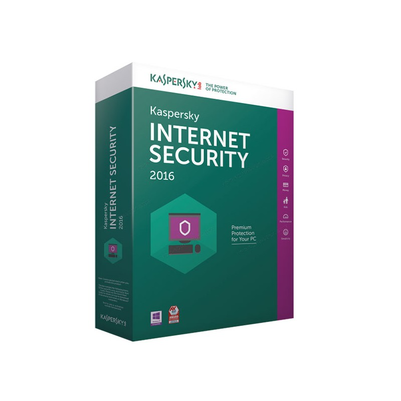 KASPERSKY - INTERNET SECURITY 1 POSTE / 1 AN prix tunisie