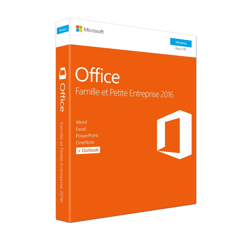 MICROSOFT - Office Home & Business 2016 Français - Windows 32/64 bits prix tunisie