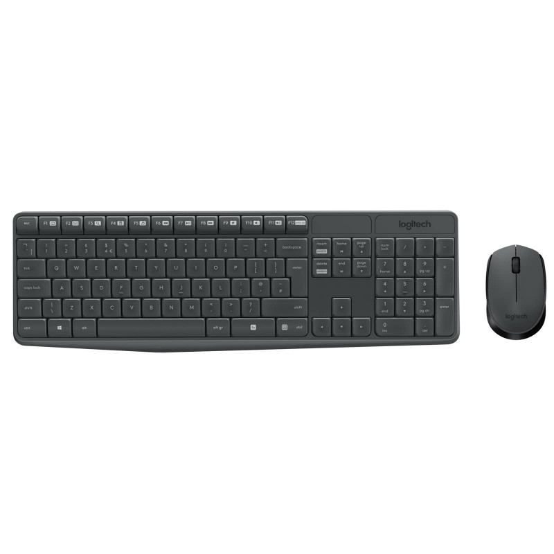 LOGITECH - ENSEMBLE WIRELESS COMBO MK235 prix tunisie