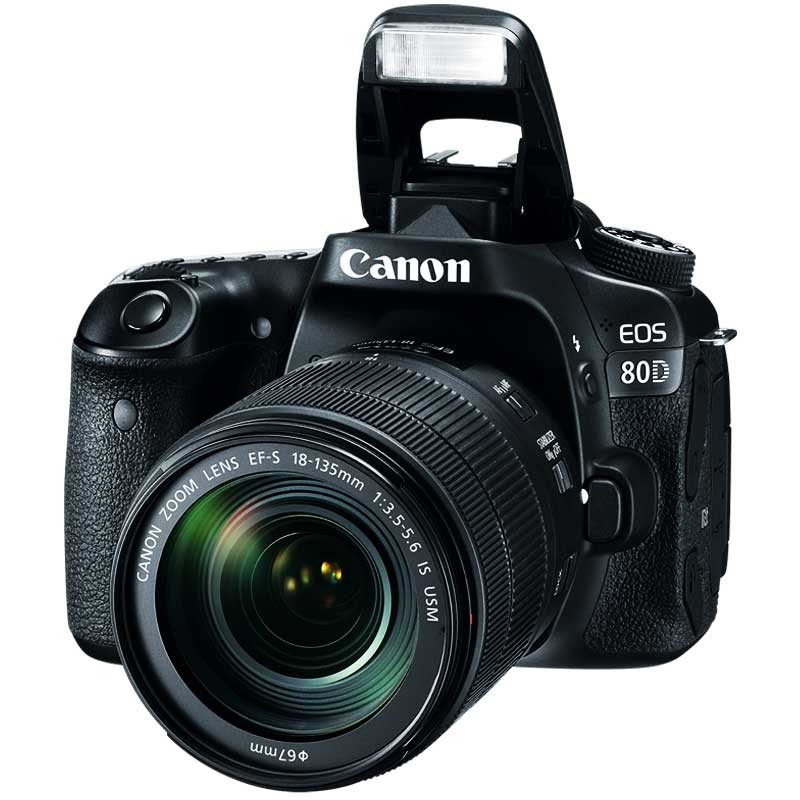 CANON - Appareil Photo Reflex EOS 80D 24,2MP - WiFi prix tunisie