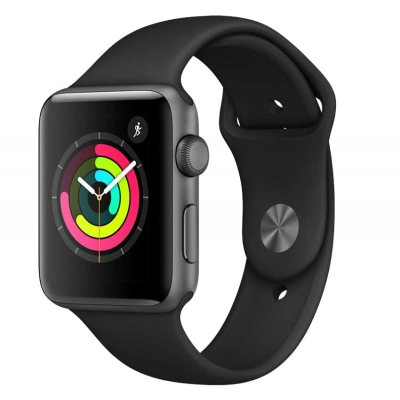 Apple -  WATCH SERIES 3 42MM GPS SPACE GRAY (MQL12LL/A) prix tunisie