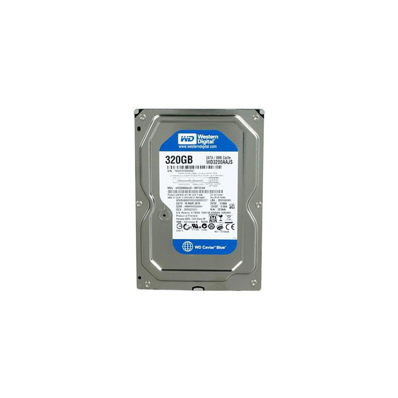 Western Digital - Disque dur interne 320 go sata 3.5