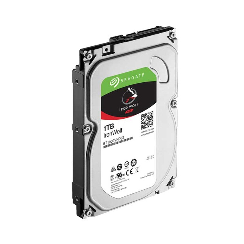 SEAGATE - DISQUE DUR INTERNE IRONWOLF 1 TO 3.5