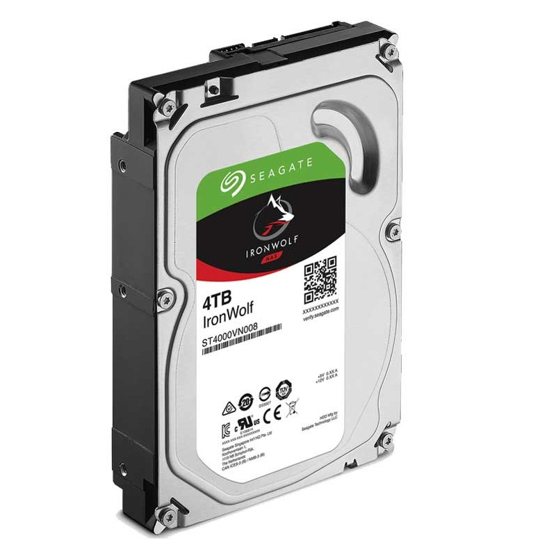 SEAGATE - DISQUE DUR INTERNE IRONWOLF ST4000VN008 4TO 3.5
