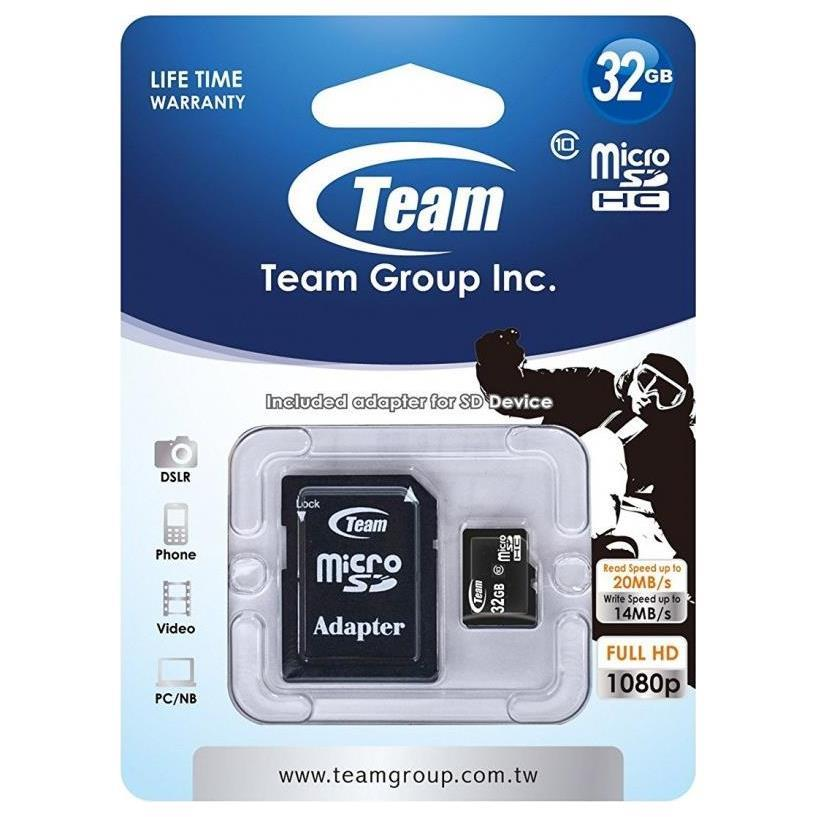 Team group - CARTE MéMOIRE MICRO SD 32 GO CLASS10 prix tunisie