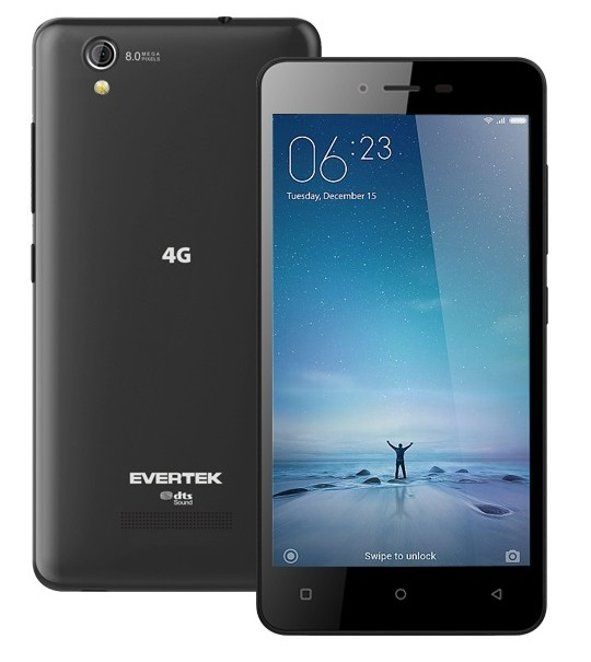 Evertek - Smartphone EverMiracle S 4G prix tunisie