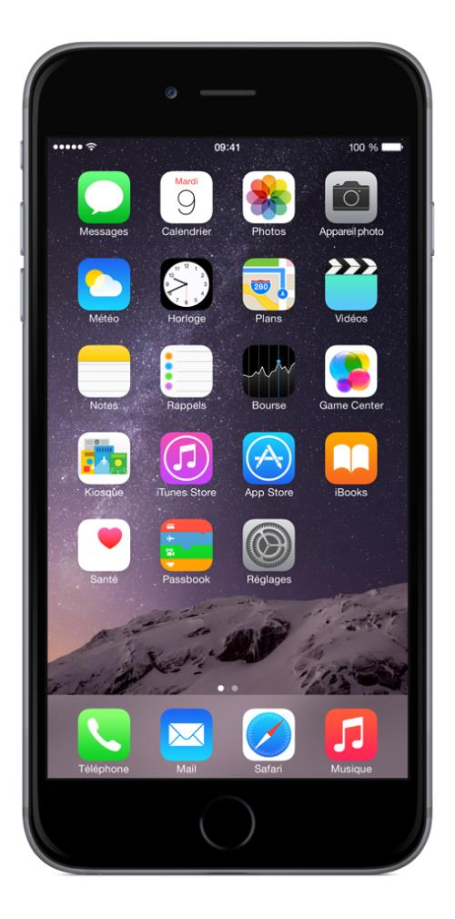 Apple - iPhone 6 plus 64Go prix tunisie