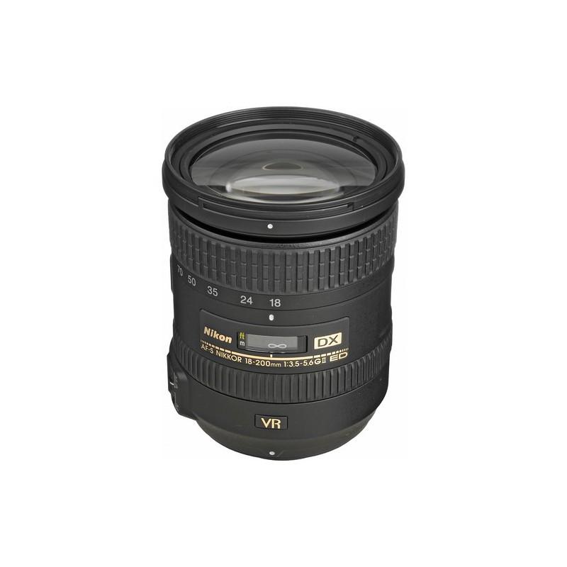 NIKON - Objectif Pour Appareils Photos Nikkor 18 - 200mm prix tunisie