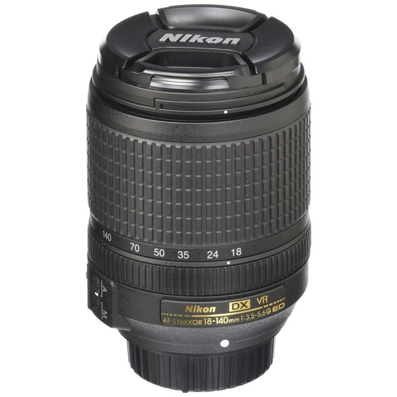 NIKON - Objectif Pour Appareils Photos Nikkor 18-140 mm prix tunisie