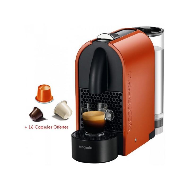 MAGIMIX - Machine à café à Capsule U / ORANGE prix tunisie