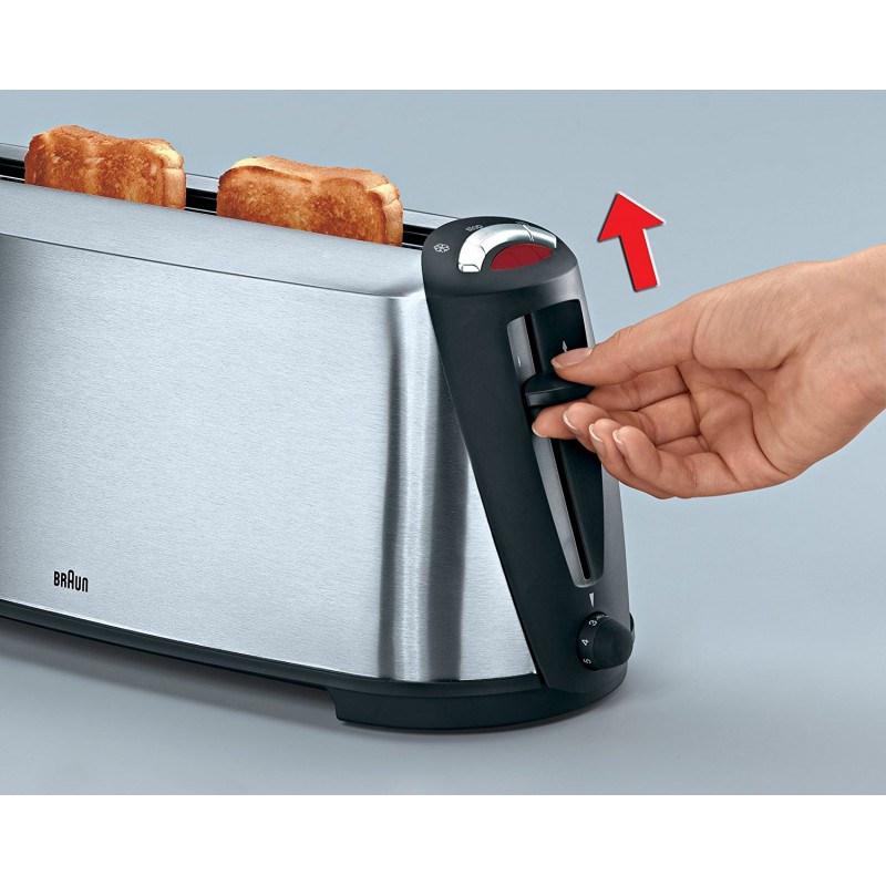 BRAUN - Grille-pain HT600 1000W prix tunisie