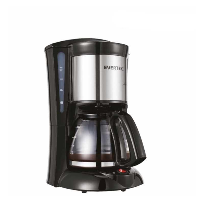 EVERTEK - cafetière roméo caffè KCA10001NX 1000w 12 tasses - noir prix tunisie