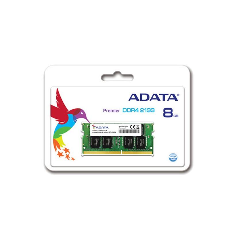 ADATA - Barette Mémoire 8Go DDR4 2133Mhz pour PC Portable - AD4S2133W8G15-R prix tunisie