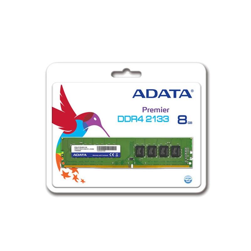 ADATA - Barette Mémoire 8Go DDR4 2133Mhz pour PC de Bureau - AD4U213338G15-R prix tunisie