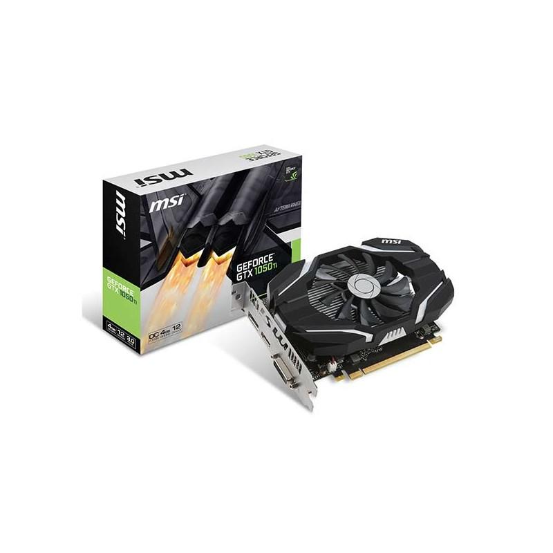 MSI - Carte Graphique GeForce GTX 1050Ti 4G OC prix tunisie