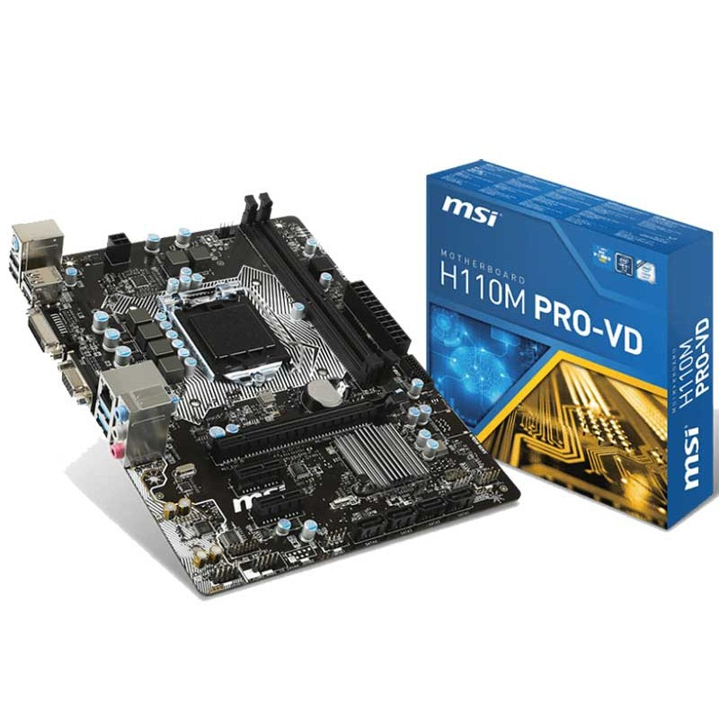 MSI - Carte mère H110M PRO-VD PLUS prix tunisie