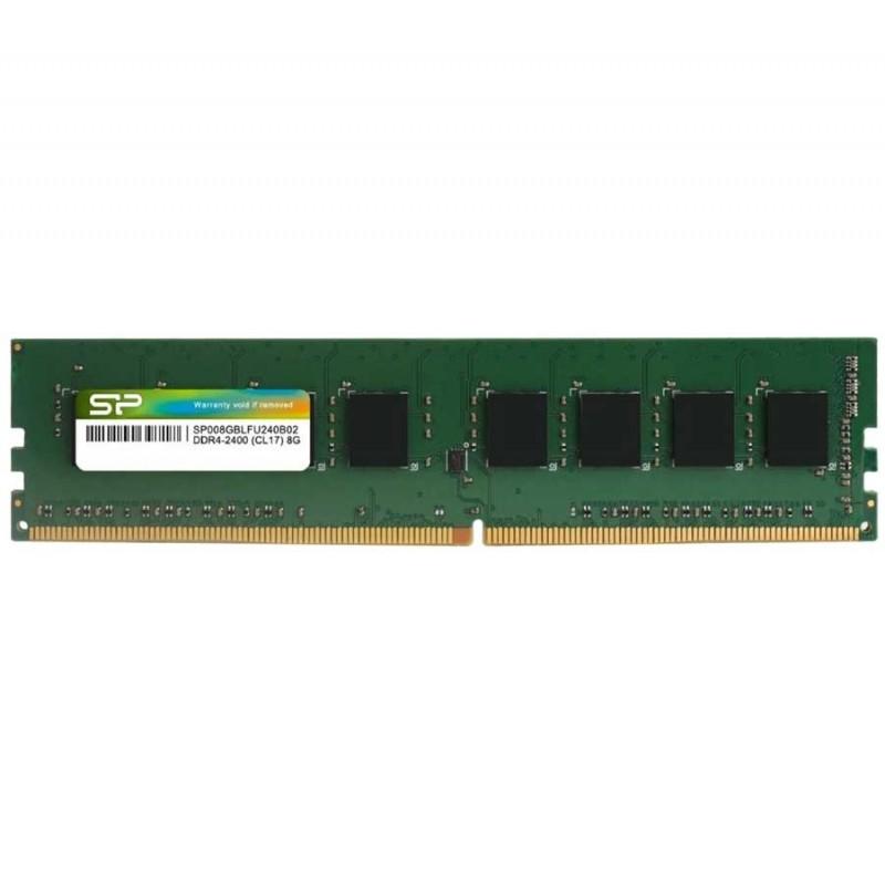 SILICON POWER - BARRETTE MéMOIRE 8GO DDR4 2400 MHZ POUR PC DE BUREAU prix tunisie