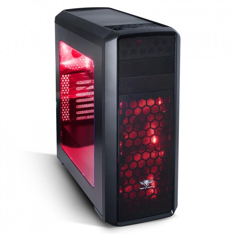 spirit of gamer - BOITIER SOG REVOLUTION II - MSD-SD CARD/ LED 8609BRE30 prix tunisie