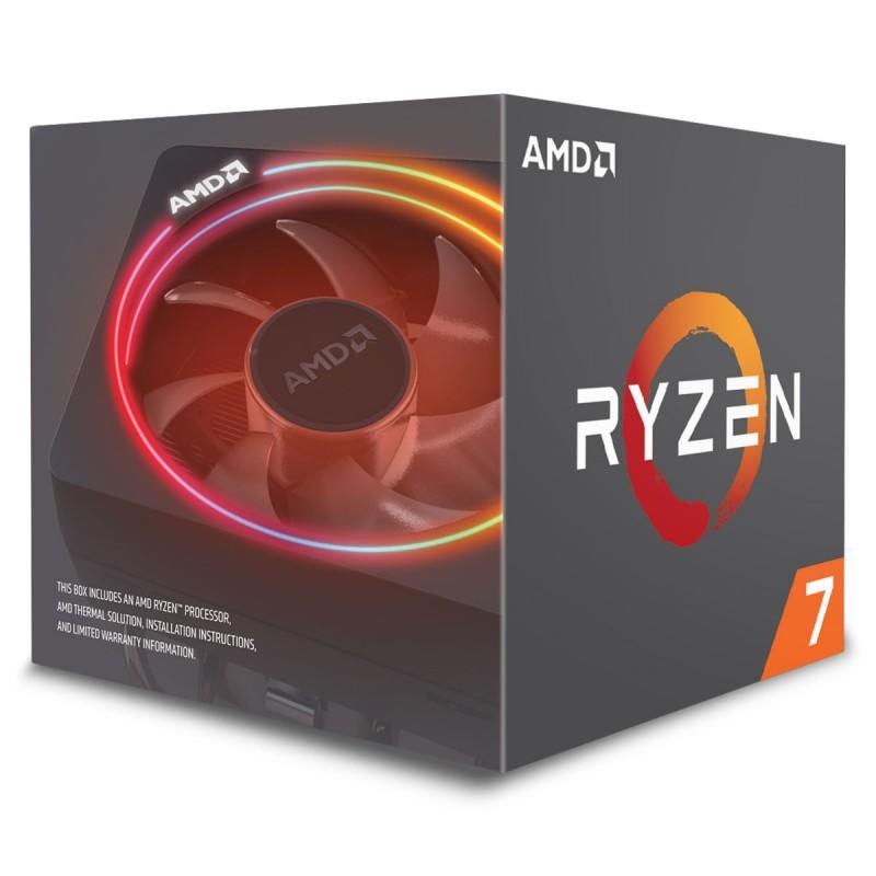 AMD - PROCESSEUR RAYZEN TM 7 2700X YD270XBGAFBOX prix tunisie