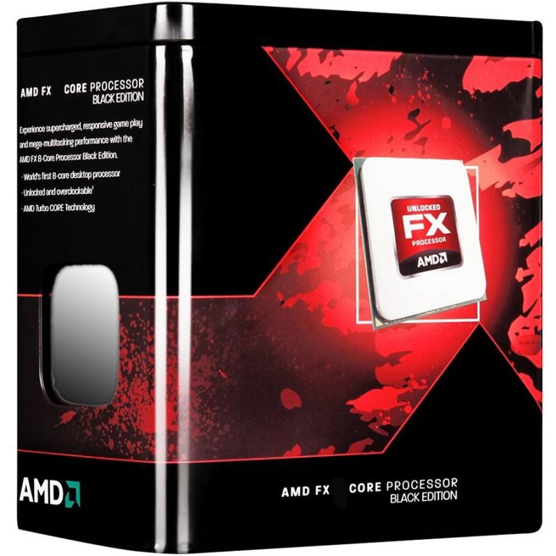 AMD - PROCESSEUR FX-SERIES X8 8320 3.5 GHZ SOCKET AM3+ VERSION TRAY SANS VENTILATEUR prix tunisie