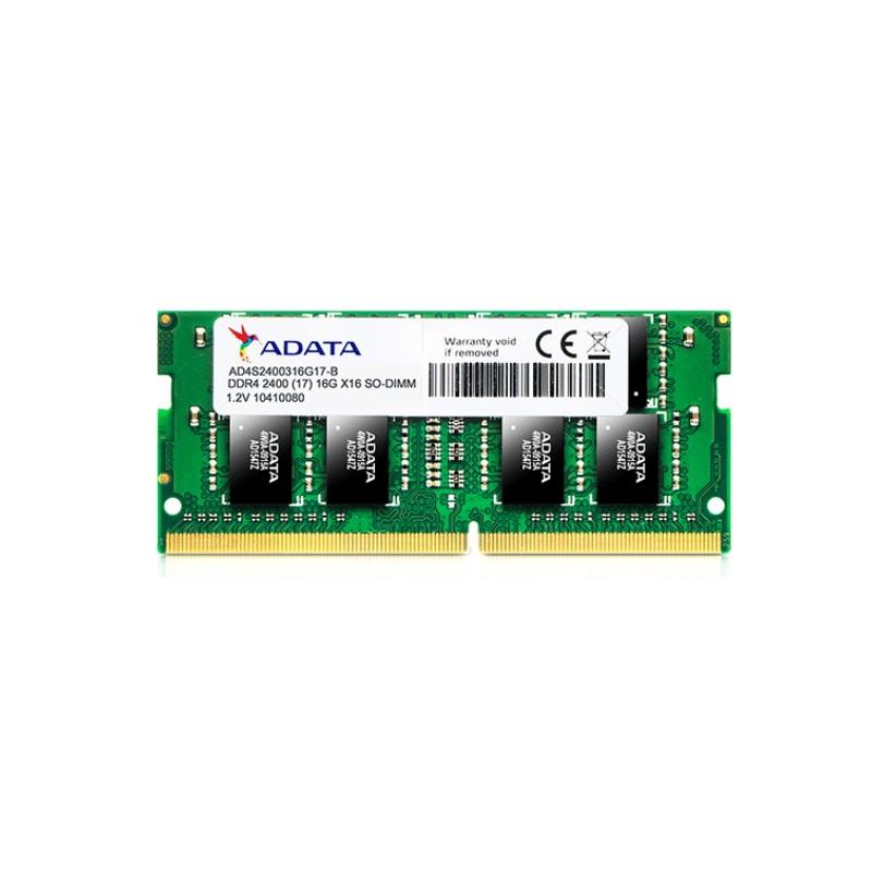 ADATA - BARRETTE MéMOIRE 16GO DDR4 POUR PC PORTABLE AD4S2400316G17 prix tunisie
