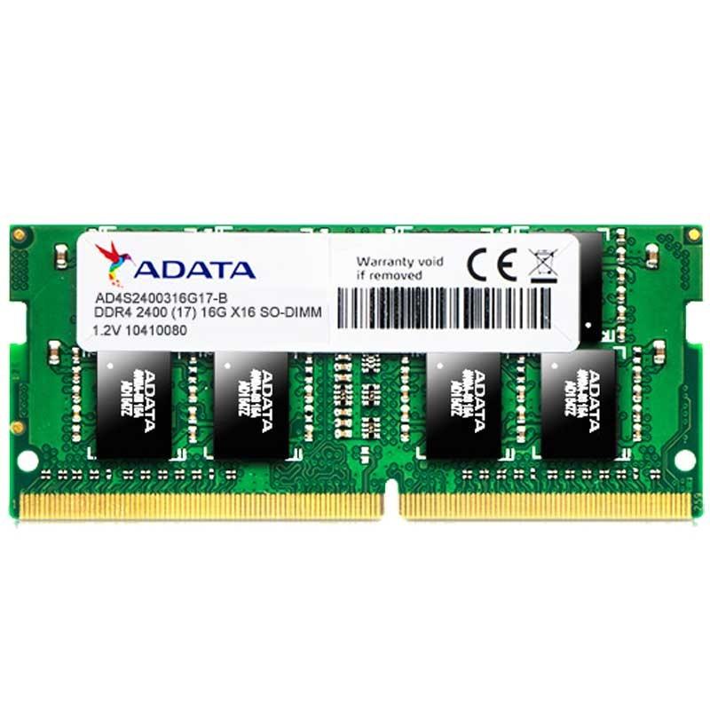 ADATA - BARRETTE MéMOIRE 8GO DDR4 2400 MHZ POUR PC PORTABLE AD4S240038G17 prix tunisie