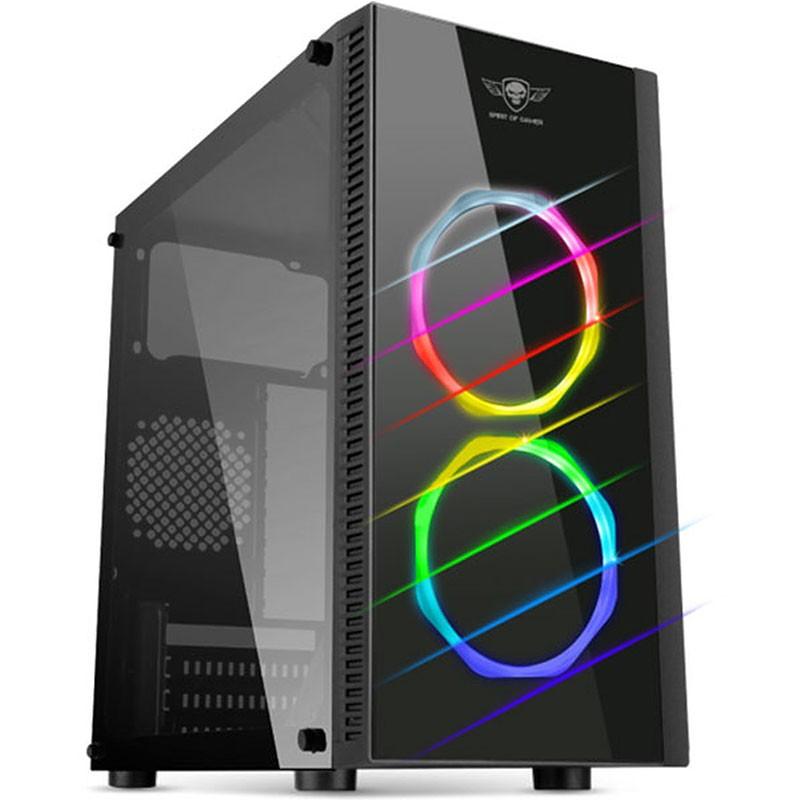 spirit of gamer - BOITIER PC GAMER DEATHMATCH 6 (6803RGB) prix tunisie