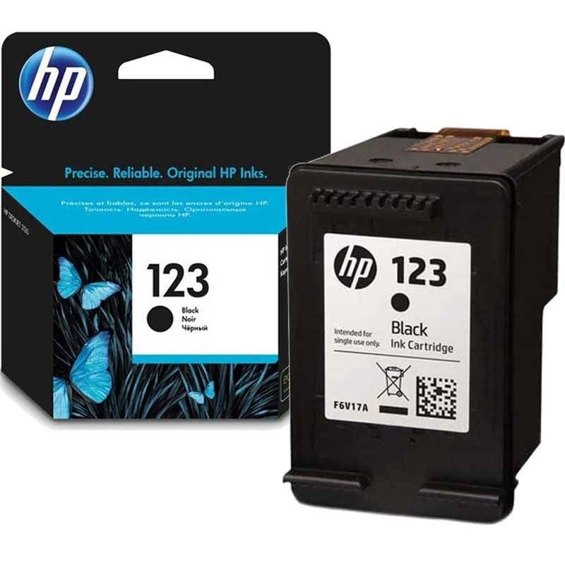 HP - Cartouche d'encre 123 noir - 120 pages prix tunisie