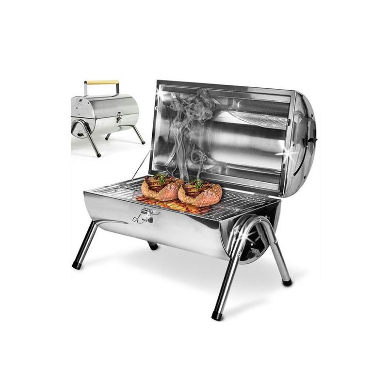 Swiss cook - Barrel Barbecue Inox Portable prix tunisie