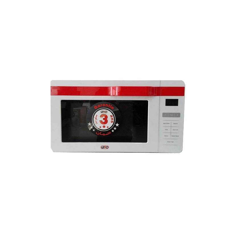 uno micro onde digital blanc 800w au meilleur prix en tunisie sur. Black Bedroom Furniture Sets. Home Design Ideas