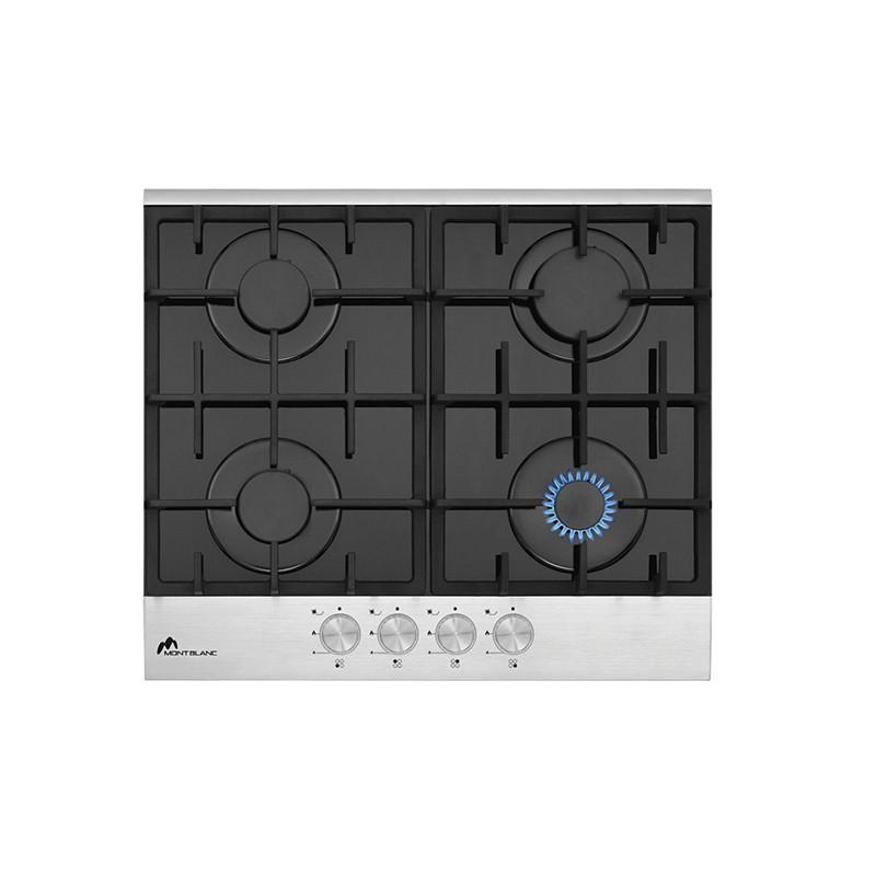 MONTBLANC - Plaque de cuisson 60 cm PDS60/4 Vitrée Inox BROSSE prix tunisie