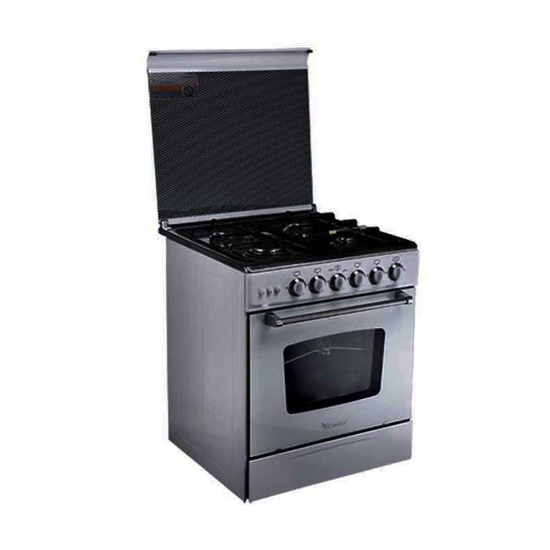 CONDOR - Cuisinière CC-S4201G 4 Feux 55 cm - Silver prix tunisie