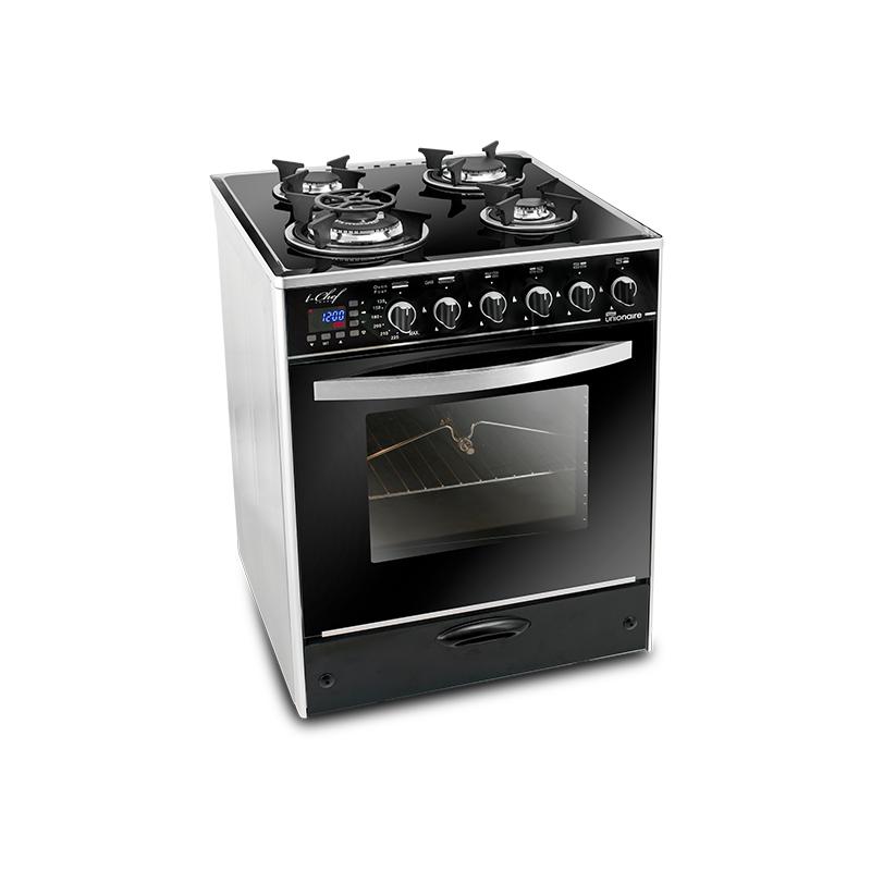 Unionaire - Cuisinière C6060GS-AC-383-IDH-S 4 Feux 60cm prix tunisie