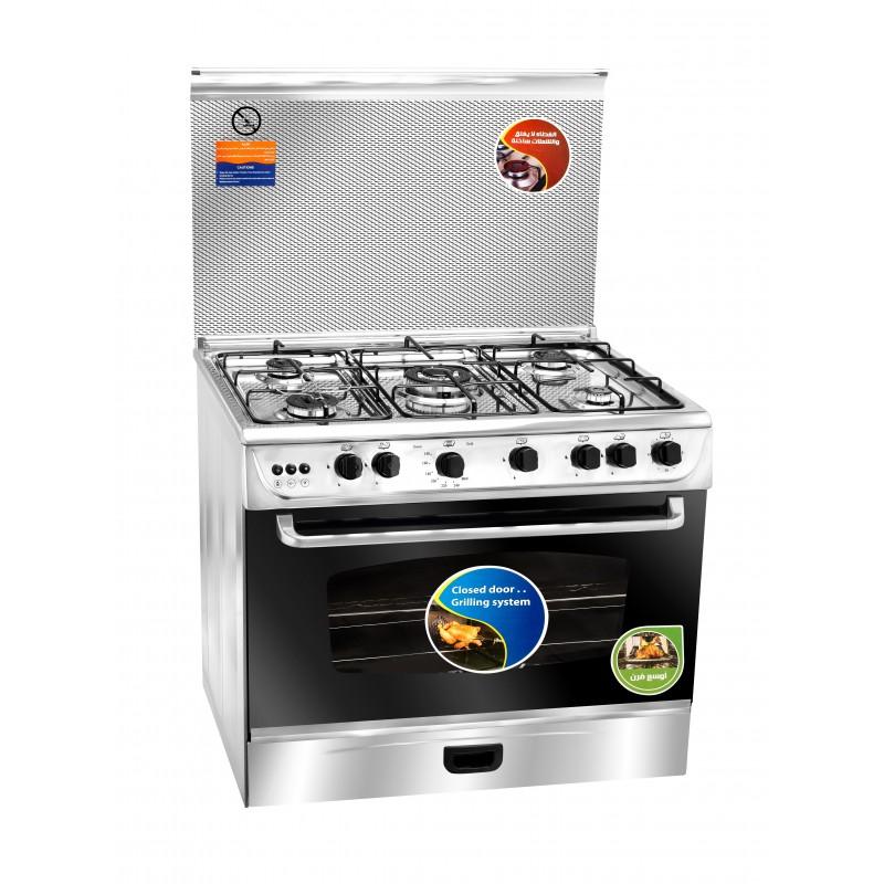 Unionaire - Cuisinière C6090S3V-FC-511 5 Feux 90cm prix tunisie