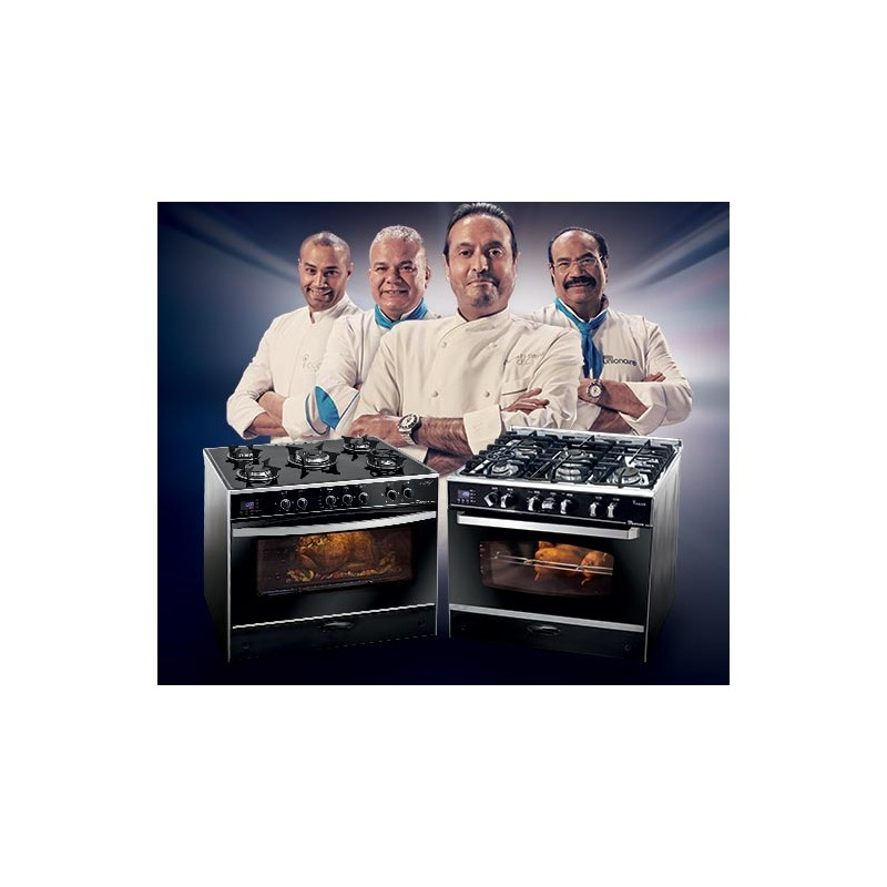 Unionaire - Cuisinière ICHEF SMART C6090SGS-AC-383IDSH-S 5 feux prix tunisie