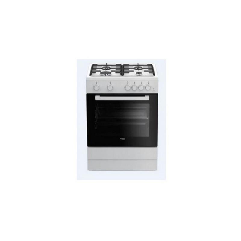 BEKO - CuisinièreFSE62110DX 4F 60cm blanc prix tunisie