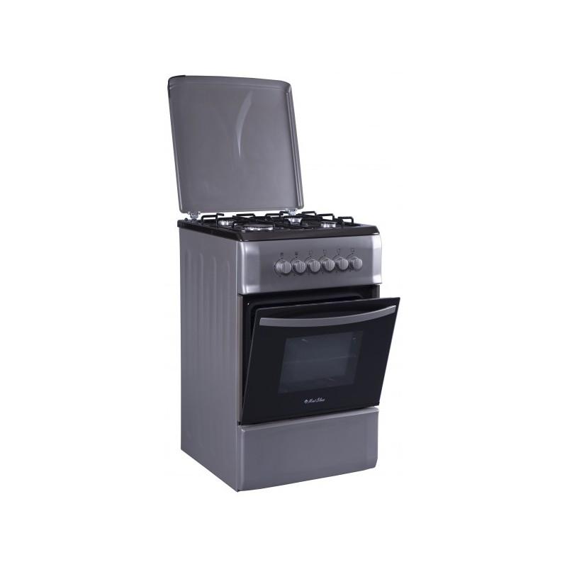 MONTBLANC - Cuisinière REX 5055 4 feux Inox sécurité cte prix tunisie