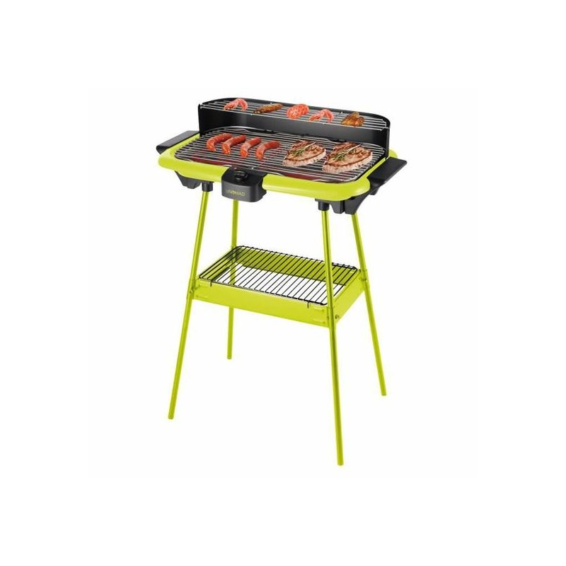 DOMOCLIP - Barbecue Électrique DOM297 Vert prix tunisie