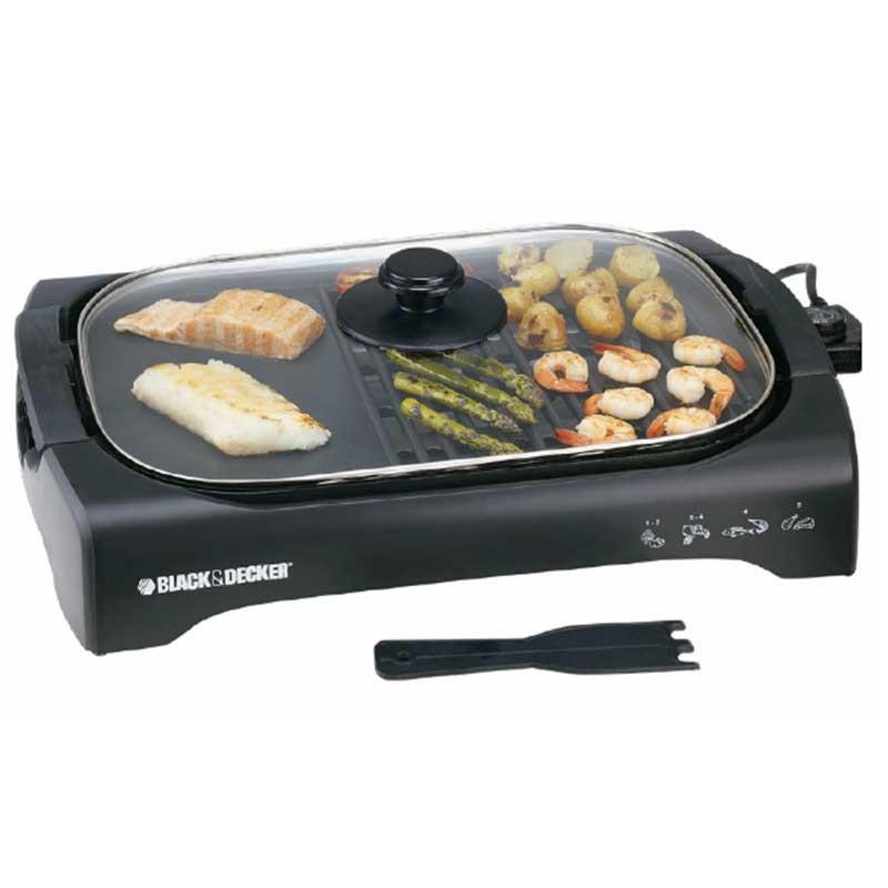 LG - Barbecue Avec Couvercle M70 2200W - Noir prix tunisie
