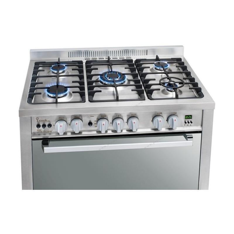 Unionaire - Cuisinière ICOOK PRO GAS.C6090SS.1GC 5 feux prix tunisie