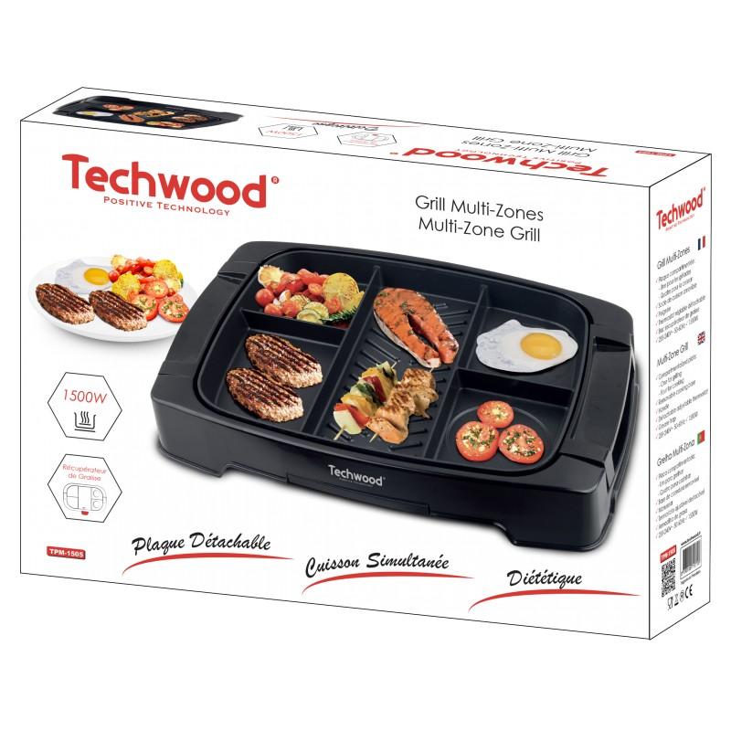 Techwood - PLANCHA MULTI ZONE TPM-1505 1500W prix tunisie