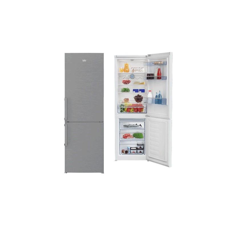 beko r frig rateur combin rcse400m21x au meilleur prix en. Black Bedroom Furniture Sets. Home Design Ideas