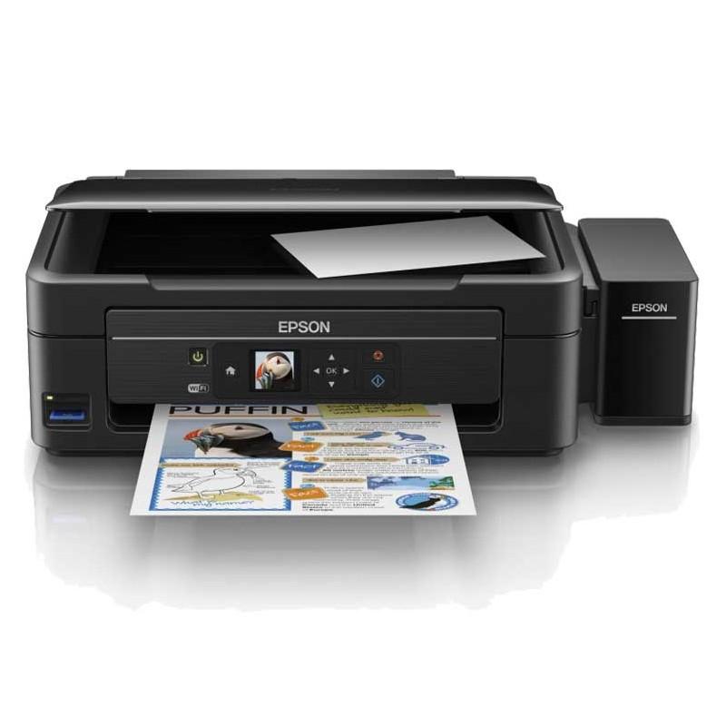 EPSON - Imprimante Multifonction L486 Couleur - WiFi - C11CF45402 prix tunisie
