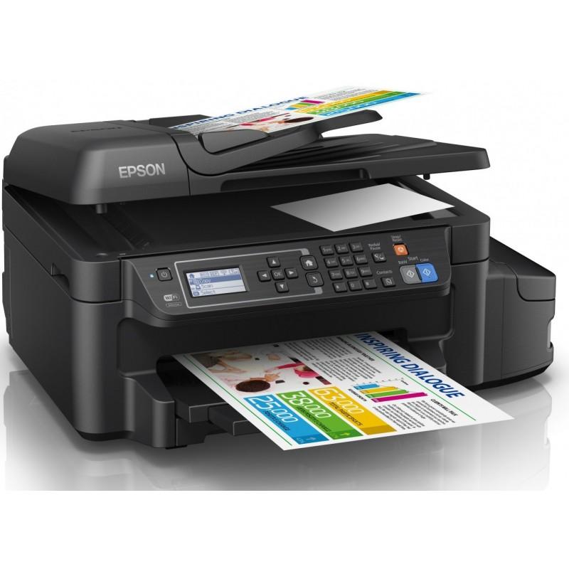 EPSON - Imprimante Multifonction couleur L655 4en1 à réservoir intégré Recto-Verso - C11CE71402 prix tunisie