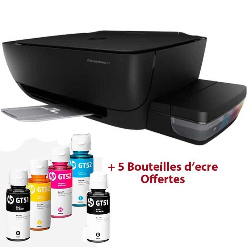 HP - IMPRIMANTE JET D'ENCRE INK TANK 415 3EN1 à RéSERVOIR INTéGRé WIFI (Z4B53A) prix tunisie